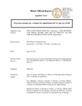 West Loop Associates, Inc. v. Property Tax Board