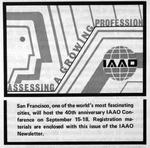 IAAO Conference Advertisement