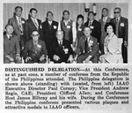 Philippine Delegation at Conference